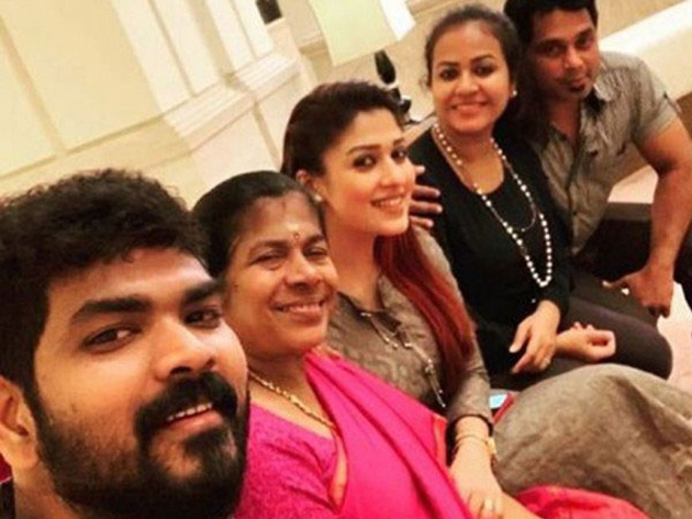 Vignesh Shivn Chillout with Nayanthara