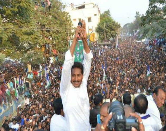 YSRCP Shows Hawa in Rayalaseema District