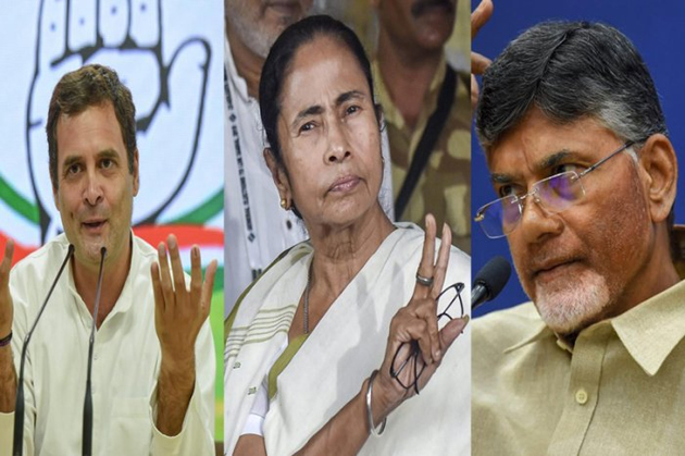 Chandrababu naidu And Other UPA Alliance Parties Leaders On Exit Poll Surveys