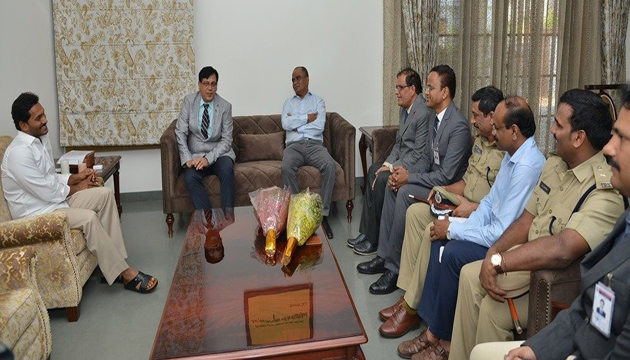 Jagan Review meetings With Govt Officials