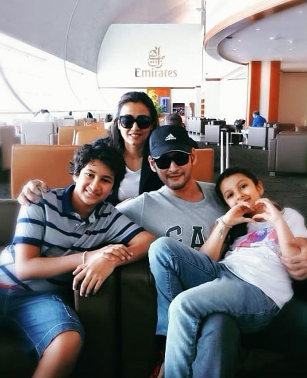Mahesh babu Going to Vacation With His Family