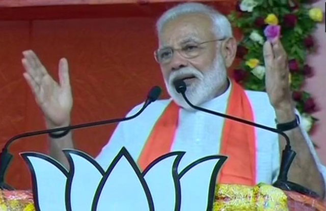 Narendra Modi Fires On Chandrababu After Election Result