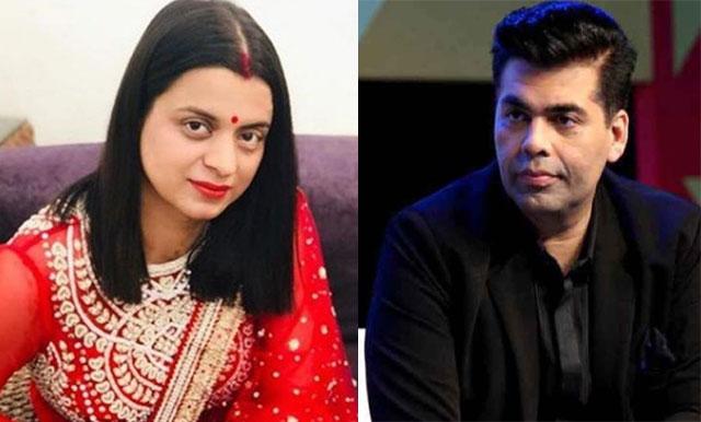 Rangoli Chandel Sensational Comments On Karan Johar