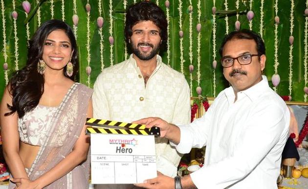 Vijay Devarakonda Hero Movie Launched