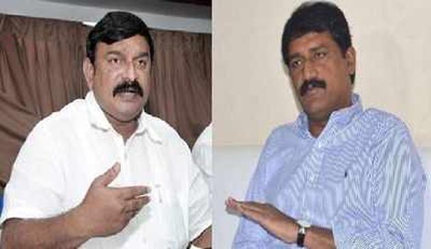 Vishnu Kumar Raju Comments On Ganta srinivasa Rao
