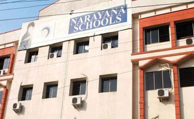 Narayana Schools Are School Siege In Ap