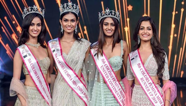 Shreya Shankar was crowned as Miss India United Continents 2019