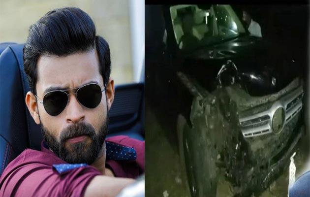 Varun Tej Car Met With an Accident