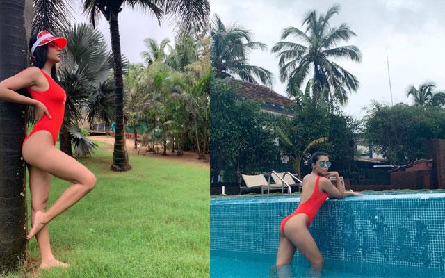Ruhi Singh Stunning Bikini Pose