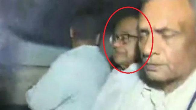 Chidambaram Arrested From Home By CBI Amid High Drama