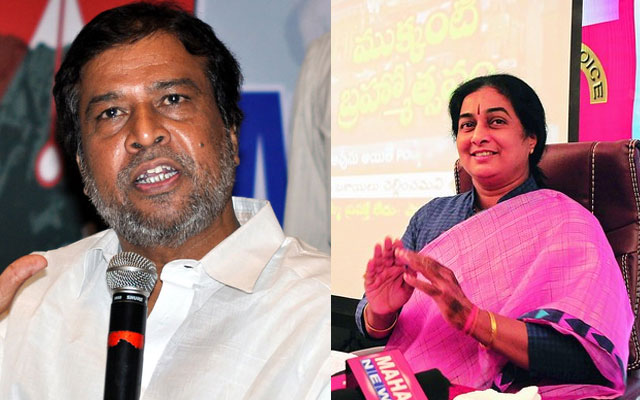 Congress Senior Leader Follows His Wife Route
