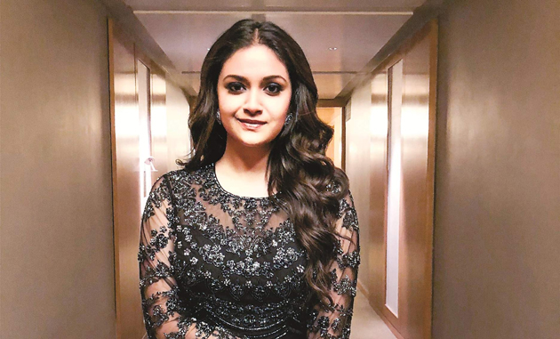 Keerthy Suresh Gives Chance to Debut Director
