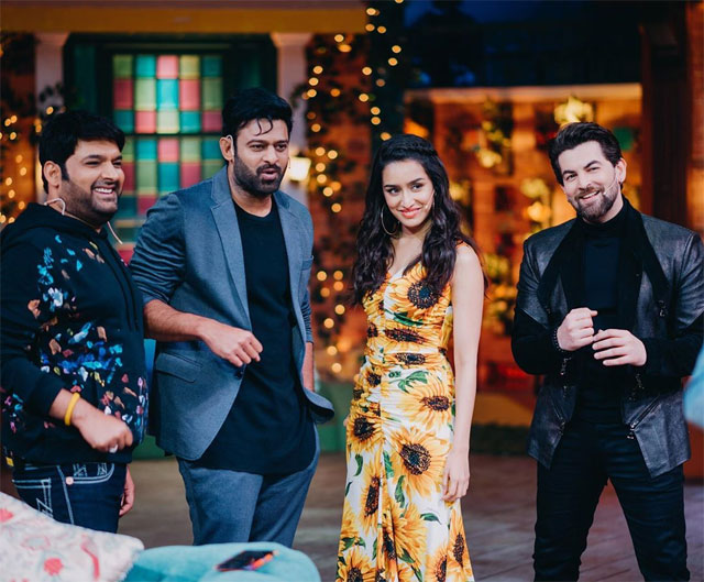 Prabhas First Time Appearances In Hindi Reality Show