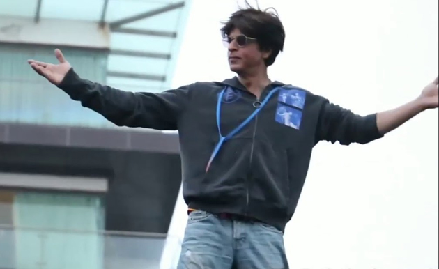 SRK clapped for me after my shots
