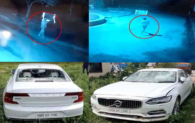 The Visuals of Raj Tarun Running Away From Car