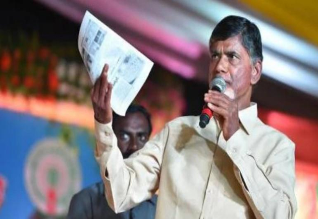 Chandrababu naidu Demands Reverse elections in Andhra