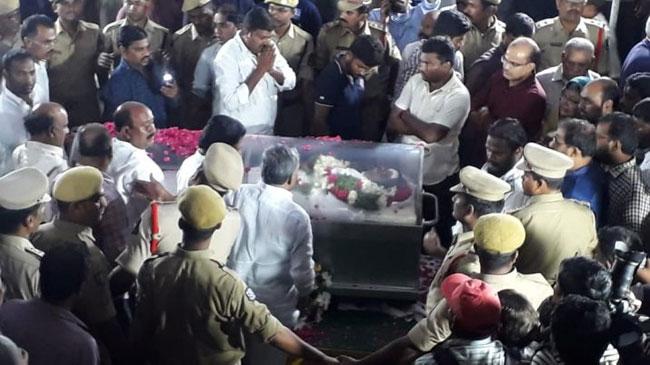 Kodela Siva Prasad Body Shifted to NTR Trust Bhavan