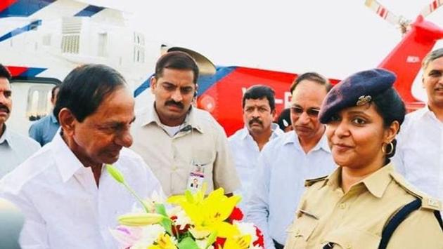 Medak SP Chandana Deepthi Invited Telangana CM KCR For Her Marriage