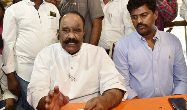 Nayani Narasimha reddy Gives Clarity on About His Comments Against KCR