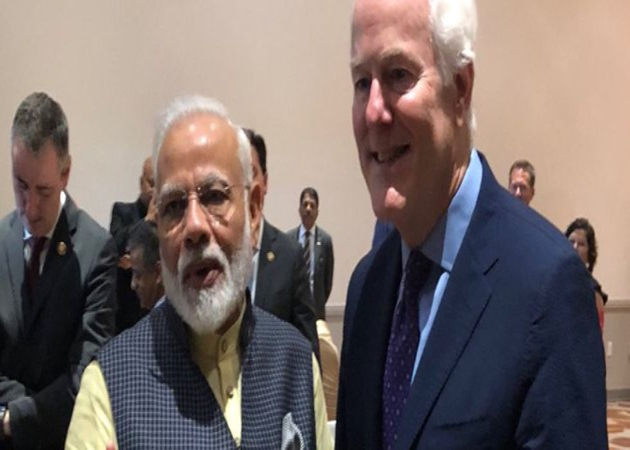 PM Modi apologises to Senator John Cornyn wife on her birthday