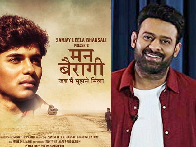 Prabhas launches the poster of Sanjay Leela Bhansali Mann Bairagi