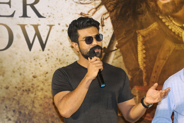 Ram Charan Responds on About Uyyalawada Family Allegations in Sye Raa Trailer Launch