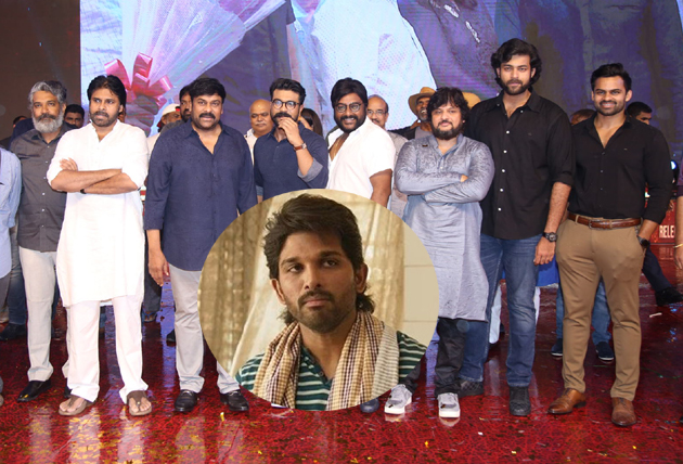 Reason Behind Allu Arjun Not Attend for Sye Raa Pre Release Event