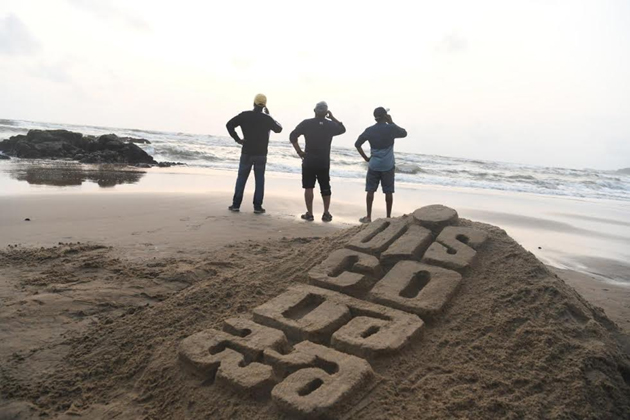 Sand Art on Ravi Teja Disco Raja Movie