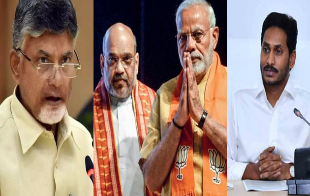 Chandrababu naidu And Jagan On About To Control BJP in National Politics