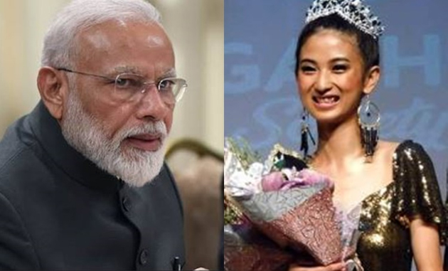 Miss kohima 2019 Comments on Modi