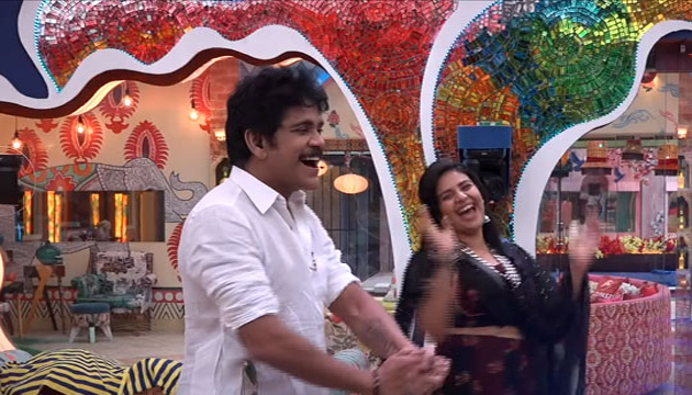 Nagarjuna Enters In Bigg Boss 3 House During Dhusera
