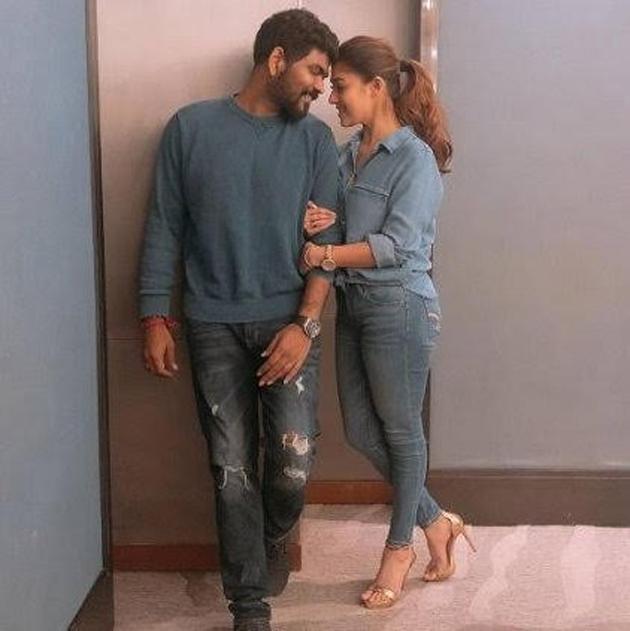 Nayanthara With her Boy Friend Vignesh Shivn