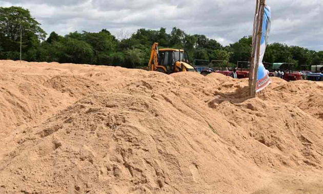 No Stock Board For Sand in Online In Andhra