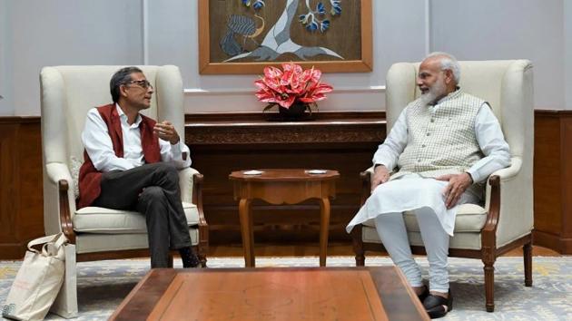 PM Modi meets Nobel laureate Abhijit Banerjee