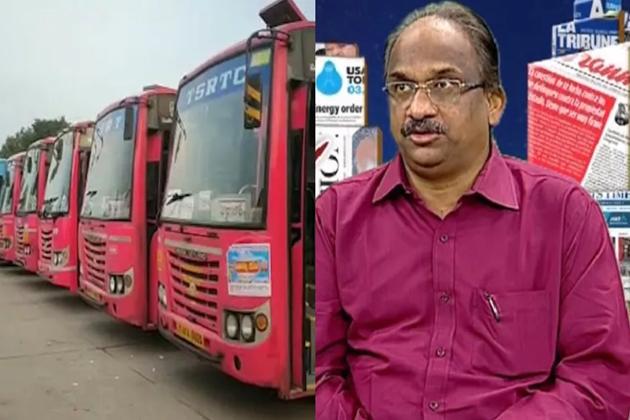 Professor K Nageshwar Question to CM KCR Over RTC Strike in Telangana 2019