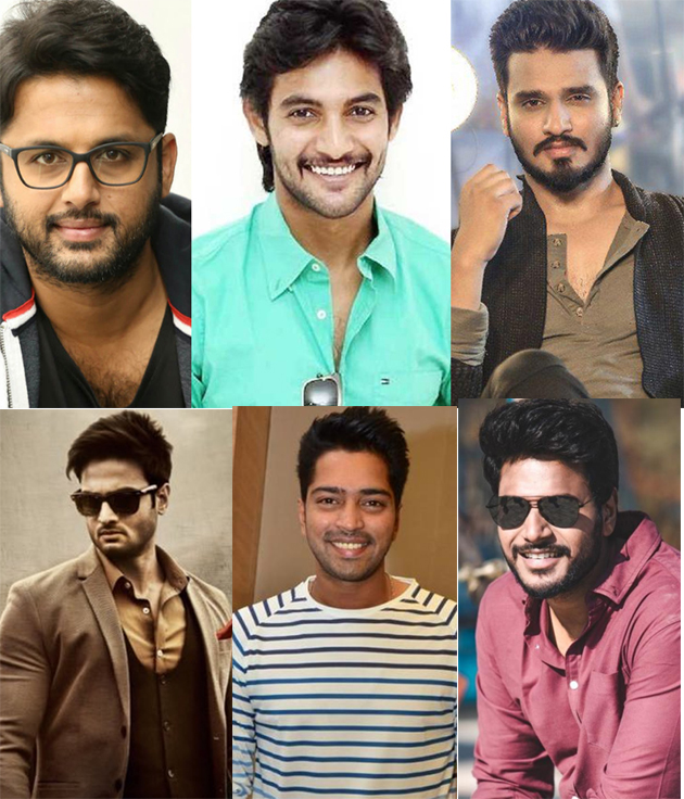 Young Heroes Struggling for Success In telugu Film industry