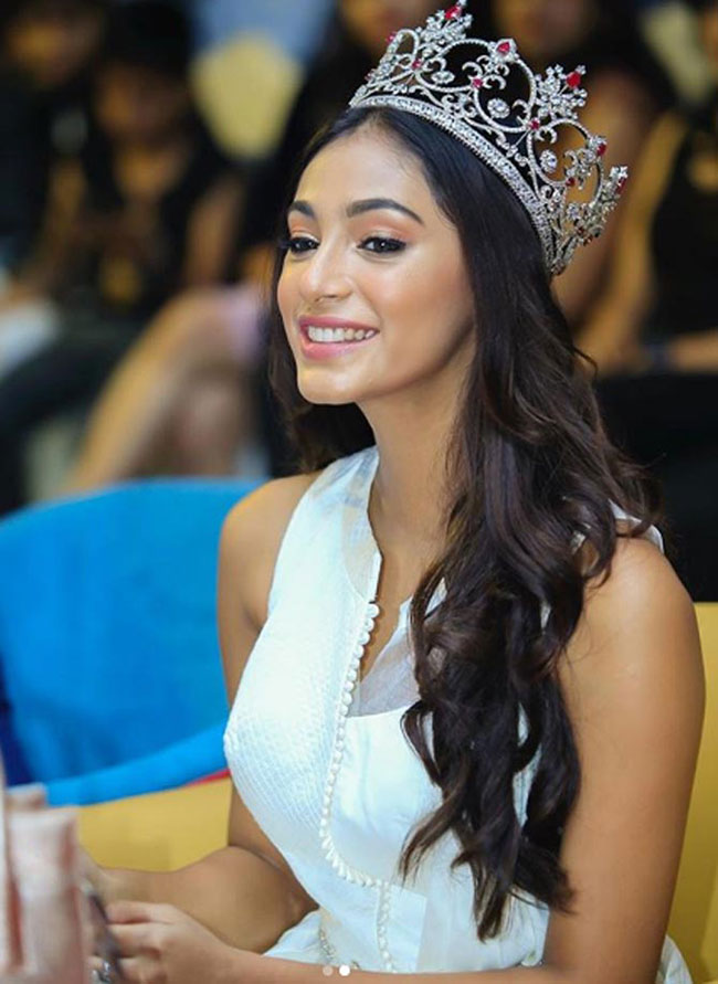 2018 Miss India in 'Andhudhan' remake