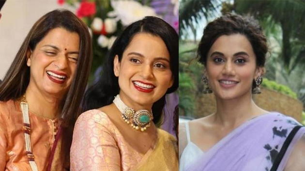 Taapsee Pannu Is Letting Go All The Filters On Neha Dhupia