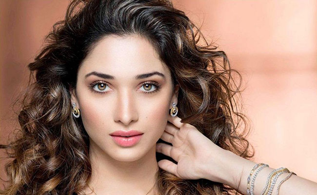 Tamanna .. kisses that hero Only