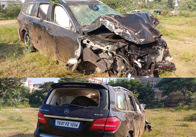 That is how the car accident happened - Rajasekhar