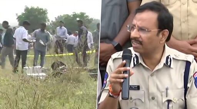 Cyberabad police Commissioner Sajjanar  On About Disha Murder Case Accused Encounter