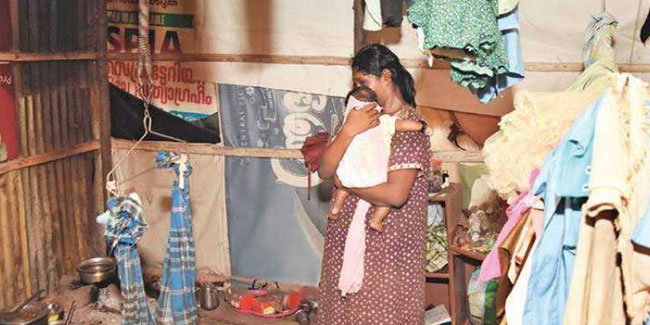 In Kerala, Six Children Eating Soil With Hungry