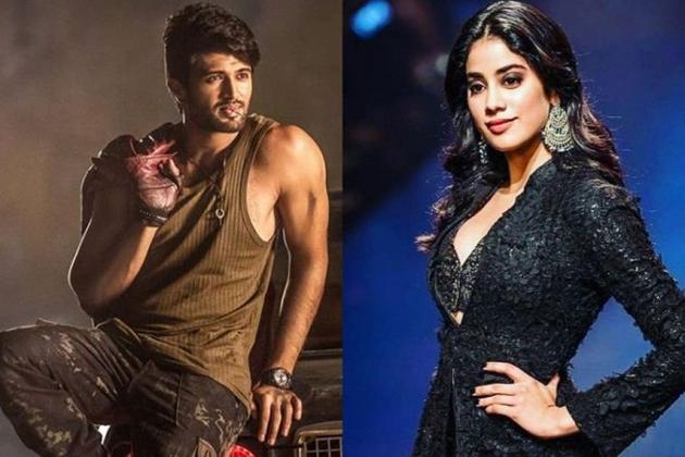 Jahnvi Kapoor To Romance with Vijay Deverakonda