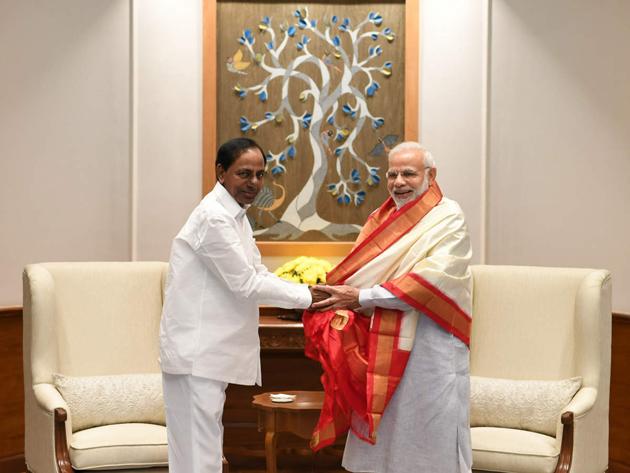 KCR To meet Narendra Modi