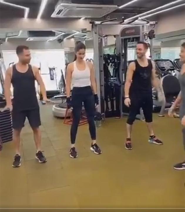 Katrina Kaif Workout Video Viral In Social Media