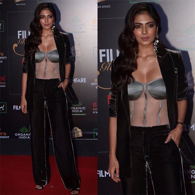 Malavika Mohanan At Filmfare Glamour And Stylish Awards