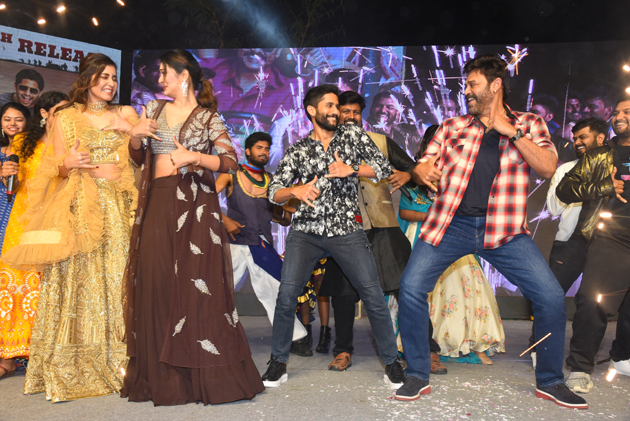 Venkatesh And Naga CHaitanya On about Venky Mama Movie Promotions