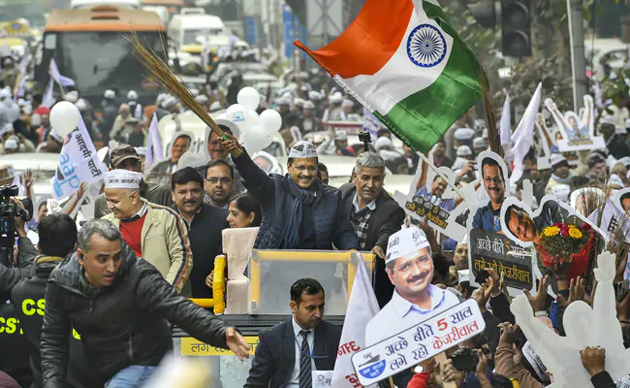 Arvind Kejriwal Delayed By Roadshow, Fails To File Nomination