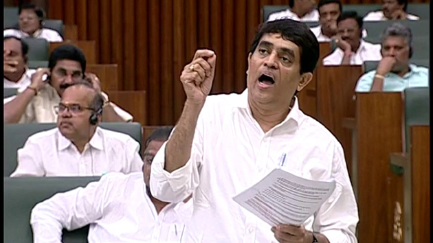 Buggana Rajendranath Reddy Explains About inside Trading In Andhra Assembly