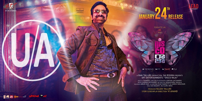 Disco Raja Censor Completed